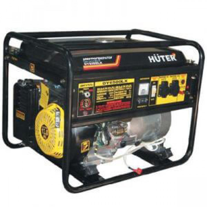 Генератор газовый-бензиновый Huter DY6500LX